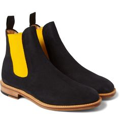 Mark McNairy Suede Chelsea Boots | Now if only I could convince the wife I 'need' a pair of $440 boots and not just 'want' them.