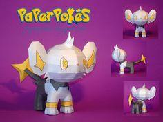 Easy Pokemon Papercraft   pokemon papercraft name shinx type electric species flash pokemon ...