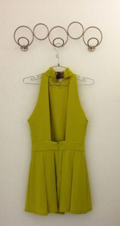 Green Dress, back.