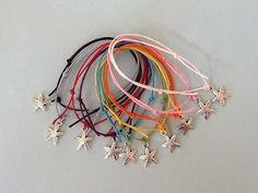 10 STARFISH Friendship Bracelets BEACH HEN PARTY BAGS   eBay £4.50