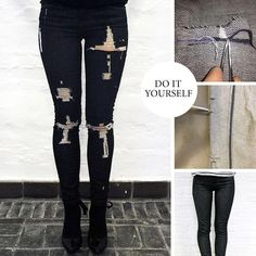 30 awesome diy ways to transform your jeans diy ripped jeans 30 awesome diy ways to transform your jeans diy ripped jeans skinny shorts and painted jeans solutioingenieria Gallery