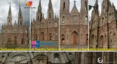 Santuario de Guadalupe, Zamora, Michoacán, estilo neo-gótico.