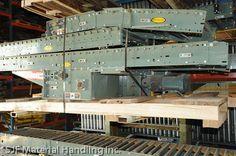 Featured Hytrol Conveyor  - belt driven live roller conveyors  -  powered belly drives via SJF.com