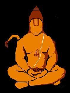Hanuman Indian Gods, Indian Art, Rama Lord, Lord Hanuman Wallpapers, Hanuman Images, Hanuman Chalisa, Mahakal Shiva, Krishna Art, Hindu Art