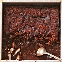 Brownie Pudding Cake - oh my!!