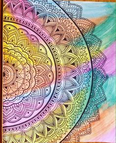 Healthy breakfast ideas for kids age 9 to make 3 12 11 Mandela Art, Art Drawings, Drawings, Doodle Art, Art Projects, Mandala Artwork, Painting, Art, Tangle Art