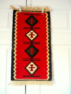 ON SALE.........Vintage small ethnic wool woven Textile Lot