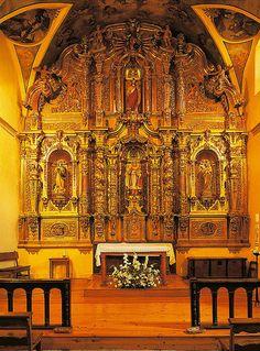 Retablo Iglesia de San Félix (El Pino, Aller) | por Montaña Central de Asturias