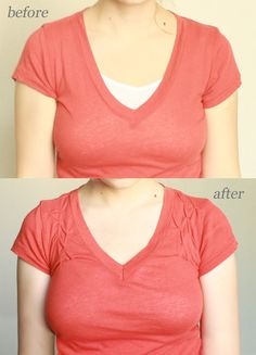 smocking to raise a neckline tutorial from uber chic for cheap.