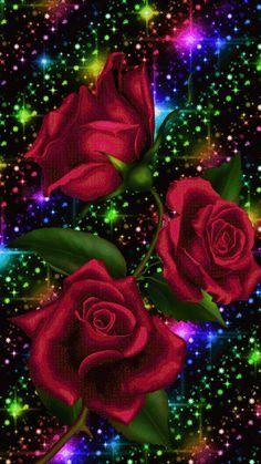 Very beautiful gif Beautiful Rose Flowers, Flowers Gif, Beautiful Flowers Wallpapers, Pretty Wallpapers, Love Rose, Beautiful Love Pictures, Beautiful Gif, Butterfly Wallpaper, Heart Wallpaper