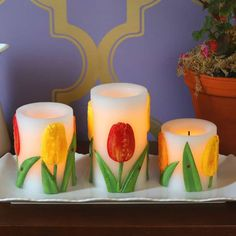 Popular Flameless Candles For Your House Decor