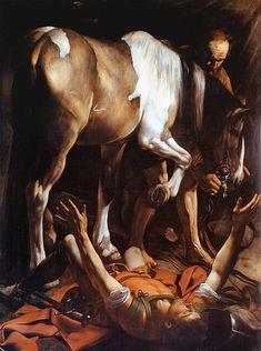 Caravaggio - La conversione di San Paolo.