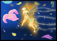 Tinkerbell - A Flower 4 Peter by *nippy13 on deviantART