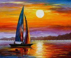 My website afremov.com ___________________________ Use 15% discount coupon - GeraSU15 ___________________________ #art #finearts #afremov #painting #oilpainting #oilart