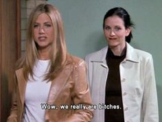 feminism, friends, monica gellar, rachel green