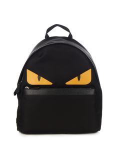 Black Mini Bag Bugs Zaino Backpack Fendi 62OlRH4Y