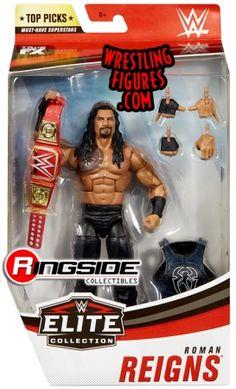 Wwf Superstars, Wrestling Superstars, Wwe Roman Reigns, John Cena Action Figure, Figuras Wwe, Wwe Edge, Wwe Birthday, Wrestlemania 35, Wwe Toys