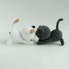 Mesmerizing Crochet an Amigurumi Rabbit Ideas. Lovely Crochet an Amigurumi Rabbit Ideas. Gato Crochet, Crochet Cat Pattern, Crochet Patterns Amigurumi, Amigurumi Doll, Crochet Dolls, Free Crochet, Knitting Patterns, Knit Crochet, Free Pattern