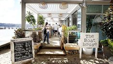 The Boathouse is a beautiful place which is situated along side Balmoral Beach. The food there is excellent and I would definitely recommend it!!
