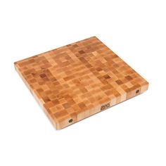 John Boos 2-1/4 inch maple end grain butcher block island top is particularly good surface for food preparation, and it has a natural resistance to bacteria. The island top has a close fine, uniform texture of maple hardwood.