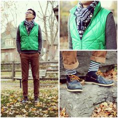 Green Quilted (by Chris Linaksita) http://lookbook.nu/look/4342119-Green-Quilted