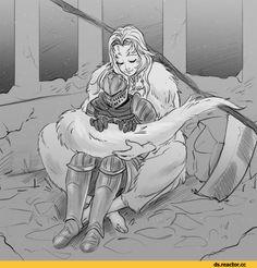 Crossbreed Priscilla, DS characters, Dark Souls, fandoms, Chosen Undead