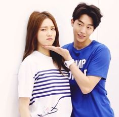 Image about couple in nam joo hyuk and lee sung kyung photoshoot by Jdth_klre Kim Bok Joo Lee Sung Kyung, Nam Joo Hyuk Cute, Korean Actresses, Korean Actors, Lee Sung Kyung Photoshoot, Weightlifting Fairy Kim Bok Joo Wallpapers, Weighlifting Fairy Kim Bok Joo, Nam Joo Hyuk Wallpaper, Park Hyung Shik