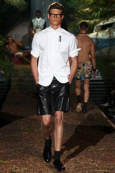 Dsquared2 Spring 2014 Menswear Fashion Show