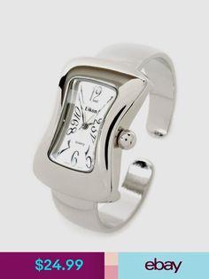Eikon Wristwatches #ebay #Jewelry & Watches Watch Sale, Guys And Girls, Fashion Watches, Apple Watch, Fashion Brands, Cuff Watches, Silver Watches, Jewelry Watches, Bangles