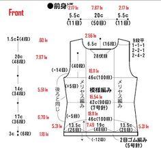 Converting Japanese Knitting Pattern Measurements