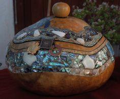 Gourd Jewelry Box--  definitely a unique jewelry box!!