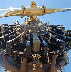 old star combustion engine valve piston kinetic mechanism warplane