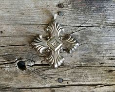 Vintage Reed and Barton 1973 Sterling Silver Christmas Cross