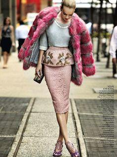 she-loves-fashion:  SHE LOVES FASHION: Lindsay Ellingson by Drew Jarrett for Elle Italia December 2013