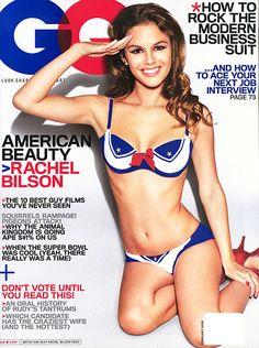 Rachel Bilson wears her stars and stripes!