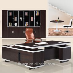 excellent quality modern wooden office furniture melamine manager