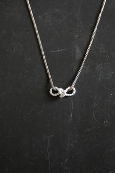 Sterling Silver Sailor's Knot necklace    http://yourcloudparade.com/product/1917/Sterling-Silver-Sailor-s-Knot-necklace/