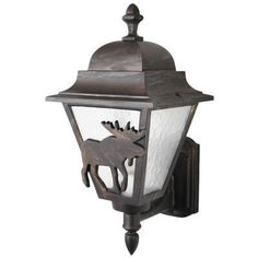Melissa Americana 1 Light Outdoor Sconce Finish: Patina Bronze