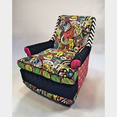 Cosmic Dream Armchair, $925, now featured on Fab.