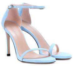 e667ef79abd Stuart Weitzman Nudistsong suede sandals Suede Sandals