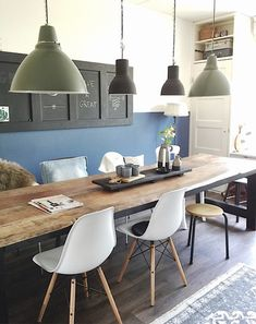 Garden – View of mijnhuis__enzo - Kitchens Remodel Ideas Dining Room Bench, Dining Area, Dining Table, Home And Living, Living Room, Home Board, Kitchen Interior, Interior Inspiration, Kitchen Remodel