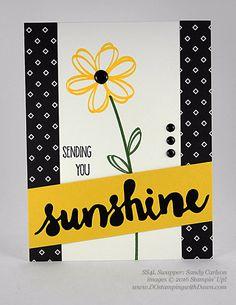 Sunshine Wishes Bundle swap cards shared by Dawn Olchefske #dostamping #stampinup (Sandy Carlson)