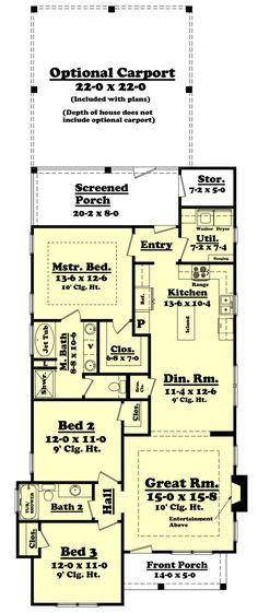 Captivating This Cottage Design Floor Plan Is 1396 Sq Ft And Has 3 Bedrooms And Has  Bathrooms.