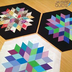 Rock Candy Table Topper   Jaybird Quilts