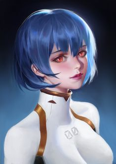 Your favourite, 1 or :)⁣⁣ 👇👇👇⁣ ⁣⁣⁣⁣⁣⁣⁣⁣⁣⁣⁣⁣ Art By llayz - Artstation ⁣ ———⁣⁣⁣⁣⁣⁣⁣⁣⁣⁣⁣⁣⁣⁣ Be sure to comment below so others can see… Neon Genesis Evangelion, Rei Ayanami, Anime Fantasy, Fantasy Art, Character Art, Character Design, Good Anime Series, Kawaii Anime, Cool Art