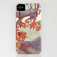 Fisher Fox iPhone Case
