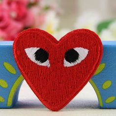 Cute-Embroidered-Patches-Badge-Bag-Fabric-Applique-Craft-Iron-On-Sew-On-Patch