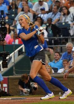 Popularized by great athletes such as pitcher Jennie Finch, softball for girls and women came of age in the late 20th and early 21st century. Now there are elite leagues for girls who might be headed for college scholarships or Olympic glory, as well as leagues for girls who mainly want to play the game for fun. In either case, players enhance their potential and help avoid injuries through conditioning drills specifically geared toward the demands of softball.