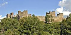 Ludlow Castle and St Laurence Church