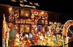Wacky #Christmas lights